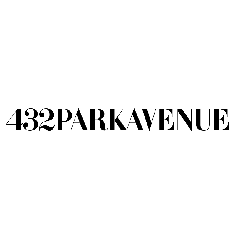 432 Park Avenue Logo Black