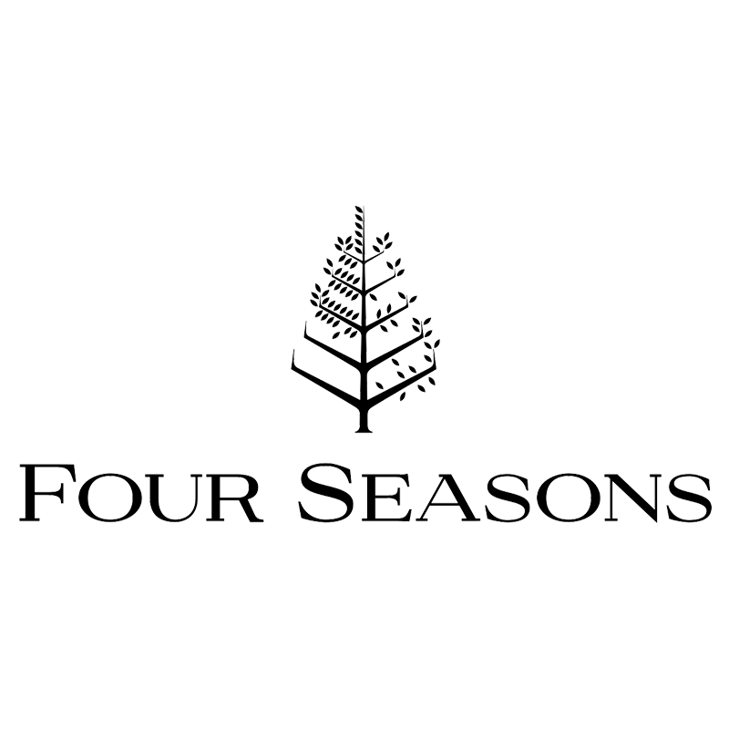 Four Seasons Logo Black